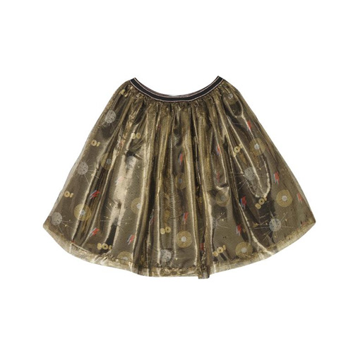 [OAKS OF ACORN] Disco Print Party Skirt