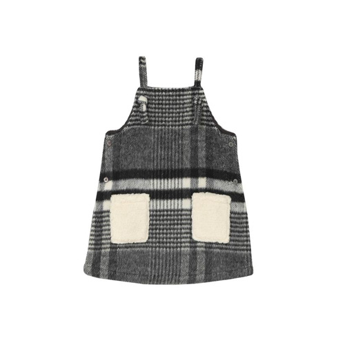 [OAKS OF ACORN] Glam Plaid Heather Pinafore