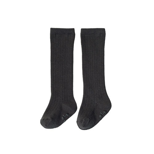 [MARLMARL] knee socks 6 charcoal