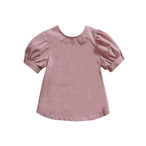 [Dimanche] neat blouse pink