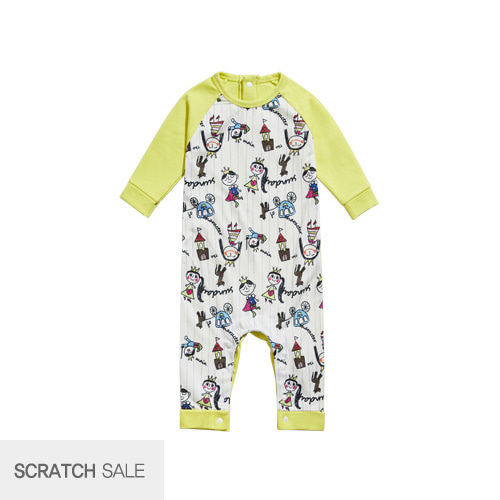 [scratch] Neon rompers