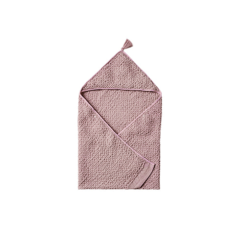 hooded towel 1 lavender
