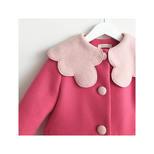 [MY LITTLE STAR] blossom coat _ pink