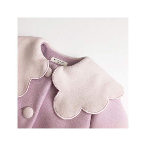 [MY LITTLE STAR] blossom coat _ lavender