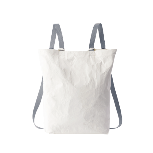 [MATO] bucket backpack 1 white