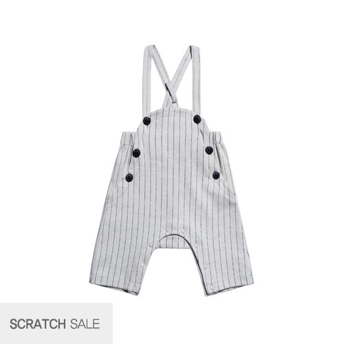 [scratch] Cute overall gray