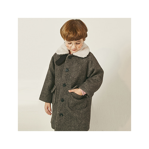 [MY LITTLE STAR] raglan padding coat