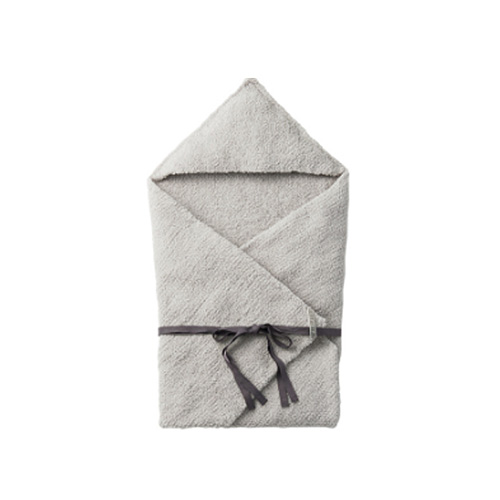 [MARLMARL] hooded blanket 2 ice grey
