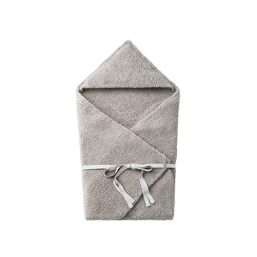 [MARLMARL] hooded blanket 3 charcoal
